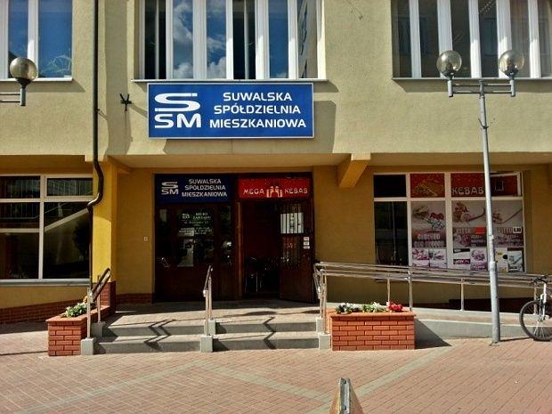 Biuro Zarządu Suwalskiej Spółdzielni Mieszkaniowej