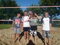 Turniej piłki siatkowej plażowej