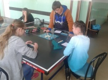 Turniej gier stolikowych - scrabble